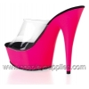 DELIGHT-601UV Clear/Neon Pink